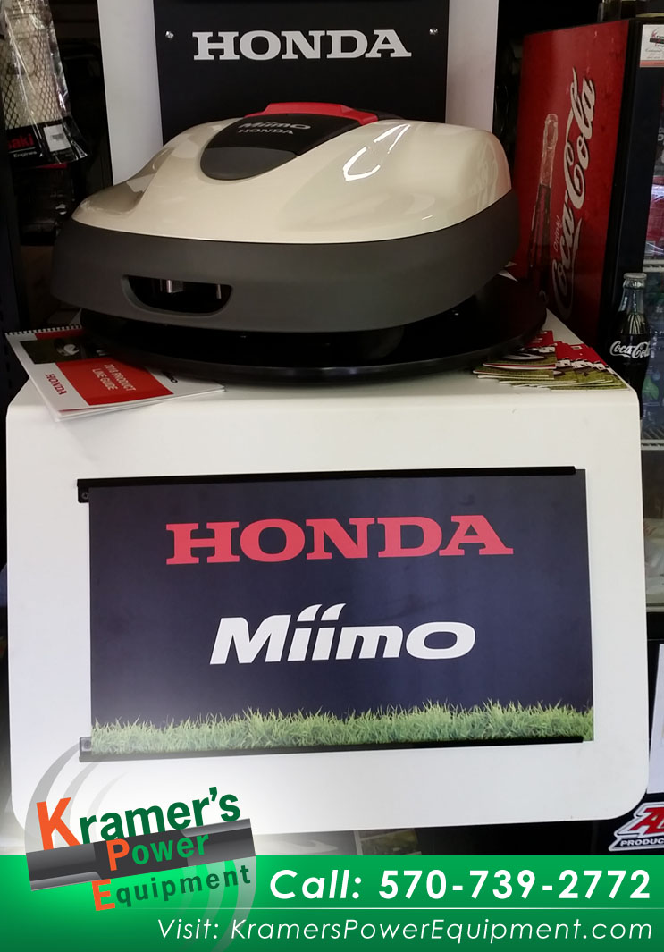 Miimo_Lawnmower_Honda_Kramers_Power_Equipment_HRM 520 Honda Miimo_AUTOMATIC MOWER_Hands Free ower_kpe